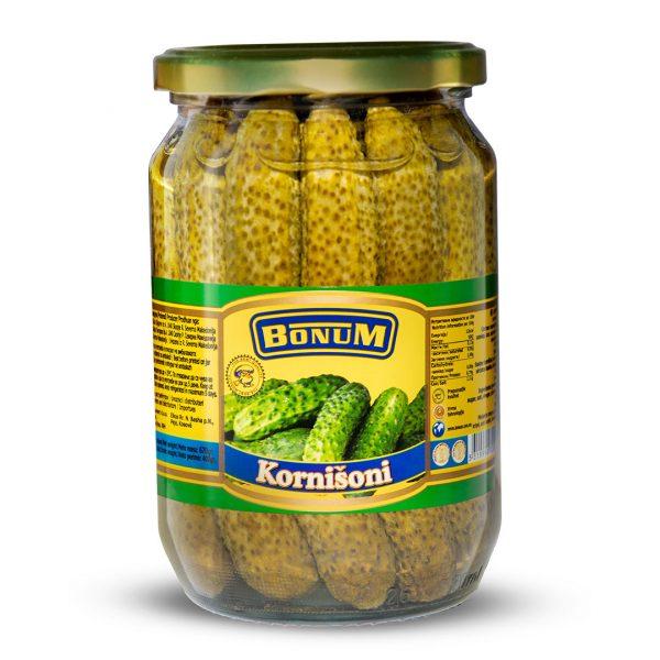 Gherkins jar